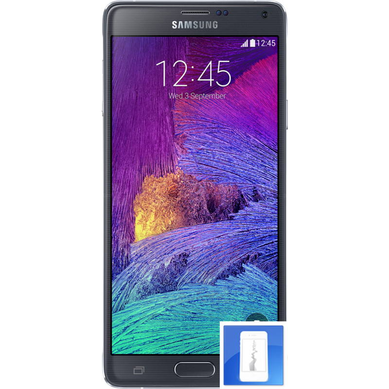 r paration smartphone remplacement cran lcd cass fissur galaxy note 4. Black Bedroom Furniture Sets. Home Design Ideas