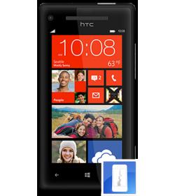 Remplacement écran LCD + Vitre tactile HTC 8X