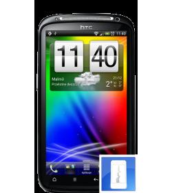 Remplacement écran LCD + Vitre tactile Sensation