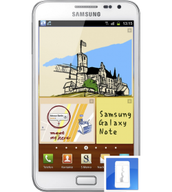 Remplacement écran LCD + Vitre tactile Galaxy Note 1