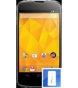 Remplacement écran LCD + vitre tactile Nexus 4