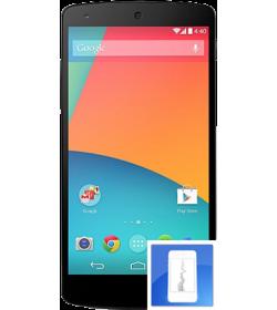 Remplacement écran LCD + vitre tactile Nexus 5