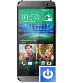 Remplacement Bouton Power HTC One M8