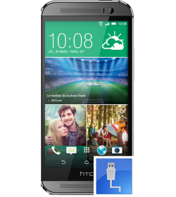 Remplacement Connecteur Charge HTC One M8