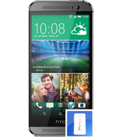 Remplacement écran LCD + vitre tactile HTC One M8