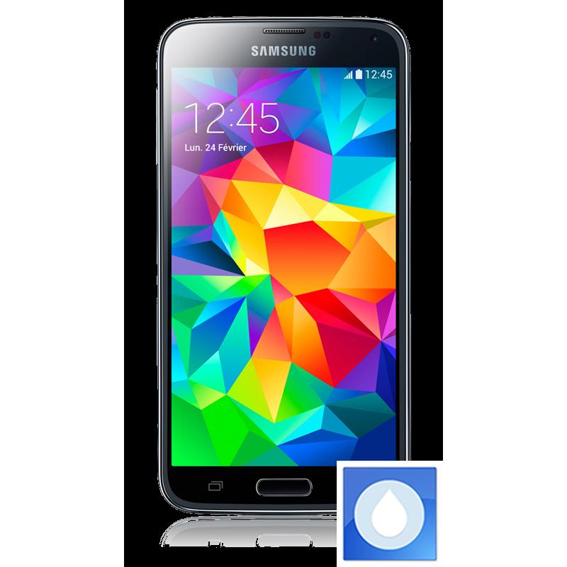 d soxydation smartphone galaxy s5 tomber dans l 39 eau reparphone29. Black Bedroom Furniture Sets. Home Design Ideas