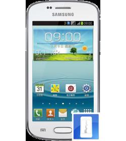 Remplacement écran LCD + Vitre tactile Galaxy Trend