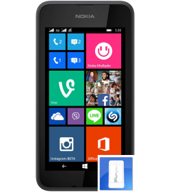 Remplacement écran LCD Lumia 530