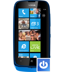 Remplacement Bouton Power Lumia 610
