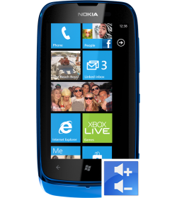 Remplacement Bouton Volume Lumia 610