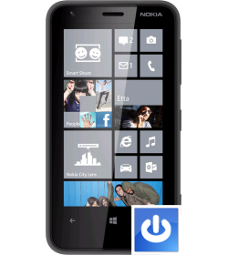 Remplacement Bouton Power Lumia 620