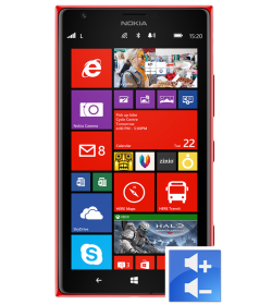 Remplacement Bouton Volume Lumia 1520