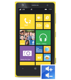 Remplacement Bouton Volume Lumia 1020
