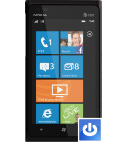 Remplacement Bouton Power Lumia 900