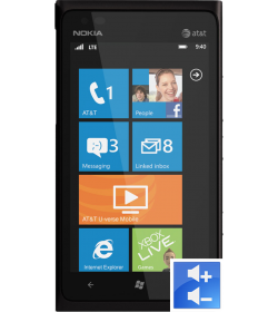 Remplacement Bouton Volume Lumia 900