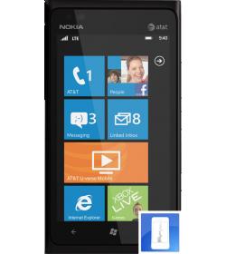 Remplacement écran LCD + Vitre tactile Lumia 900