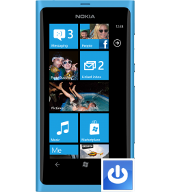 Remplacement Bouton Power Lumia 800