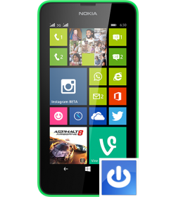 Remplacement Bouton Power Lumia 630