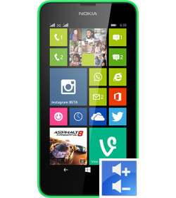 Remplacement Bouton Volume Lumia 630