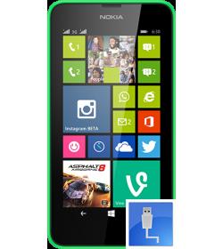 Remplacement Connecteur Charge Lumia 630
